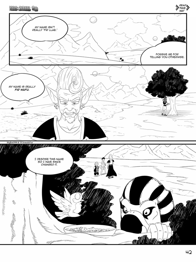 Dragon Ball SQ God Of War Special Chapter Page 42 by Moffett1990