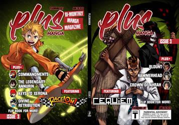 Plus Manga Issue 3 by Moffett1990