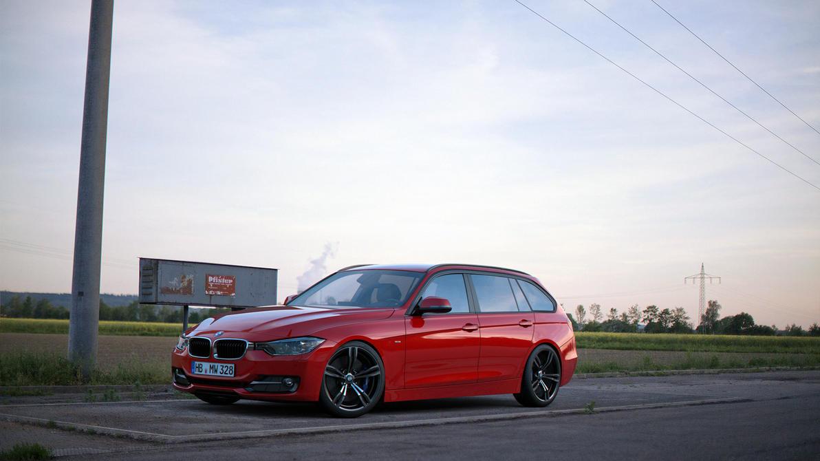 BMW 328i F31 Estate by Taruuni