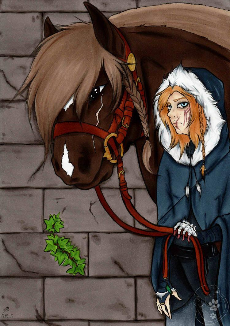 [Vagabonde] Arwen and Kiera by BKtheGrumpyCat