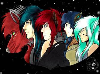 [OCs] My heroes by BKtheGrumpyCat