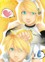 Kagamine Twin Append by Cicre