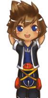 KH Chibi Series: Sora by Cicre