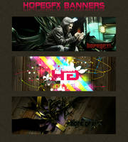 HopeGfx Banners by sl4vuj