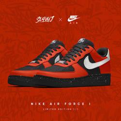 sl4vuj x Nike Air Force I