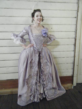 18th Century French Court Gown