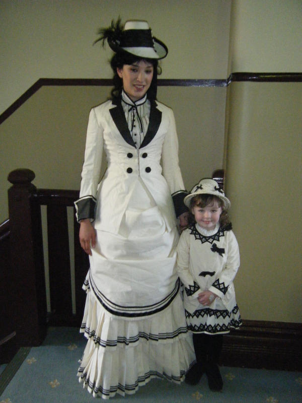 Victorian Bustle and Childrens
