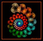 Beaded Spiral