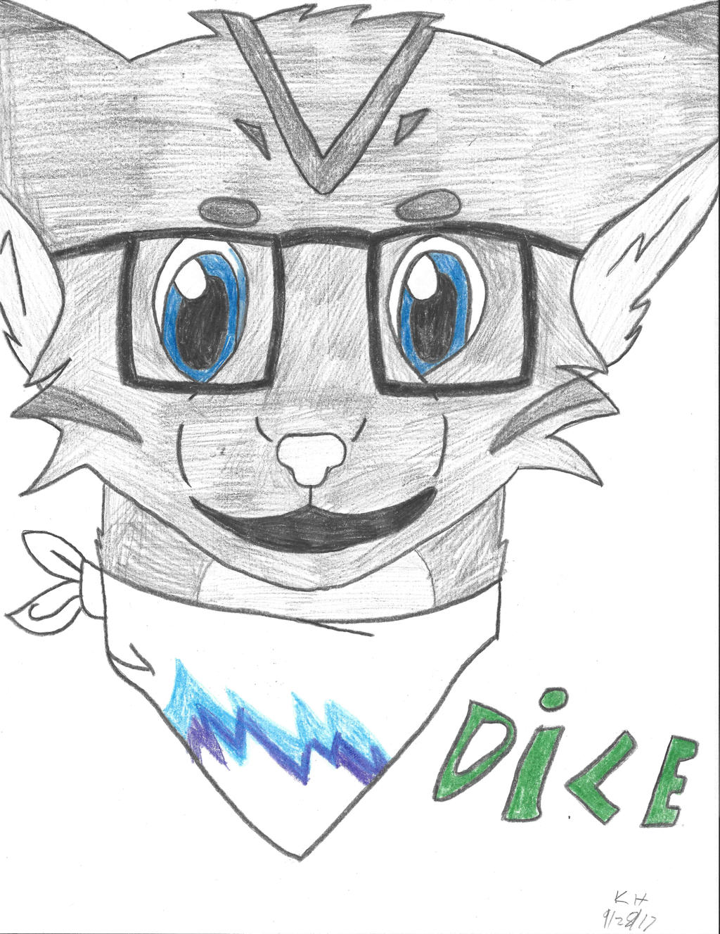 Dice - Free Practice Sketch by mythicalpizza