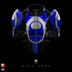 Armor Blue Suns
