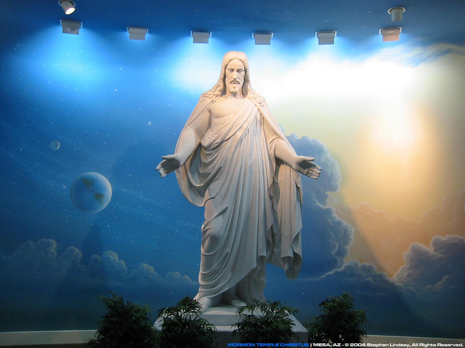Mormon Temple Christus by cyko