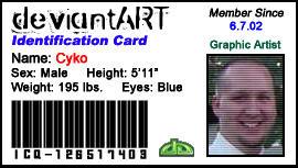 Cyko DevART ID Card by cyko