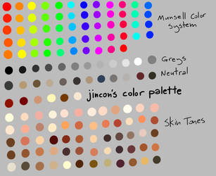 Jincon's Color Palette by jincon