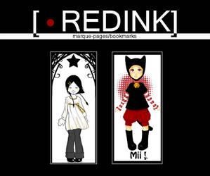 RedInk's bookmarks 2 by studio-redink