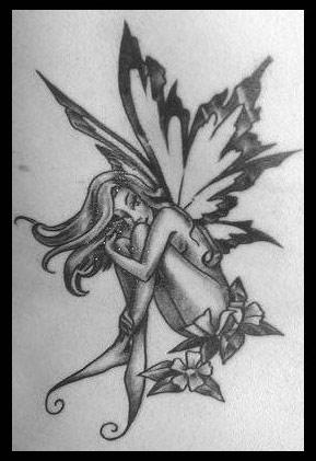 Fairy Tattoo Designs For Girls Picture 4