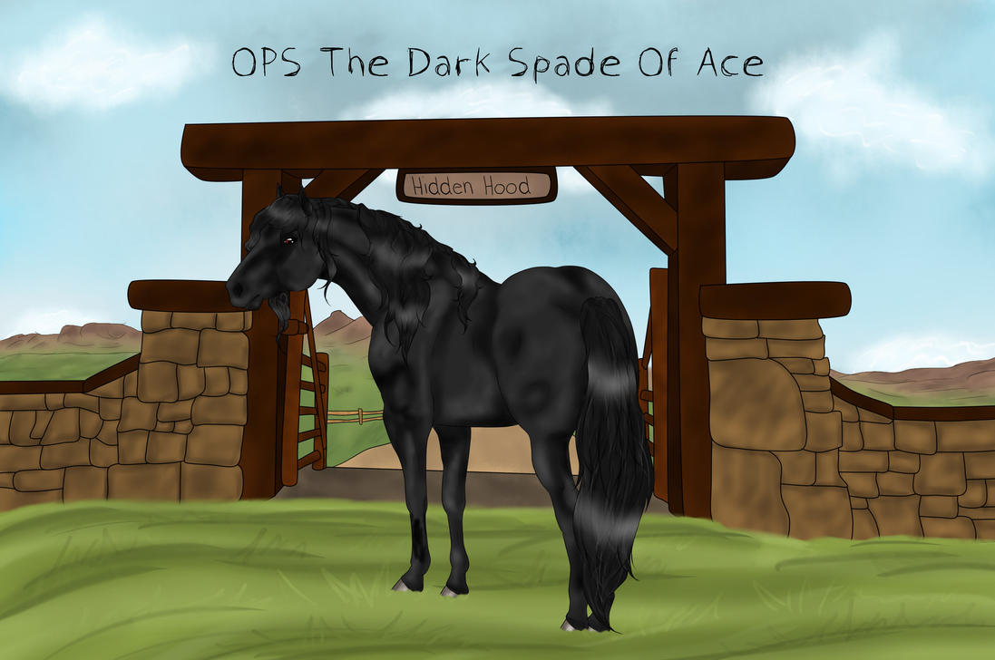 OPS The Dark Spade Of Ace by Floricenti