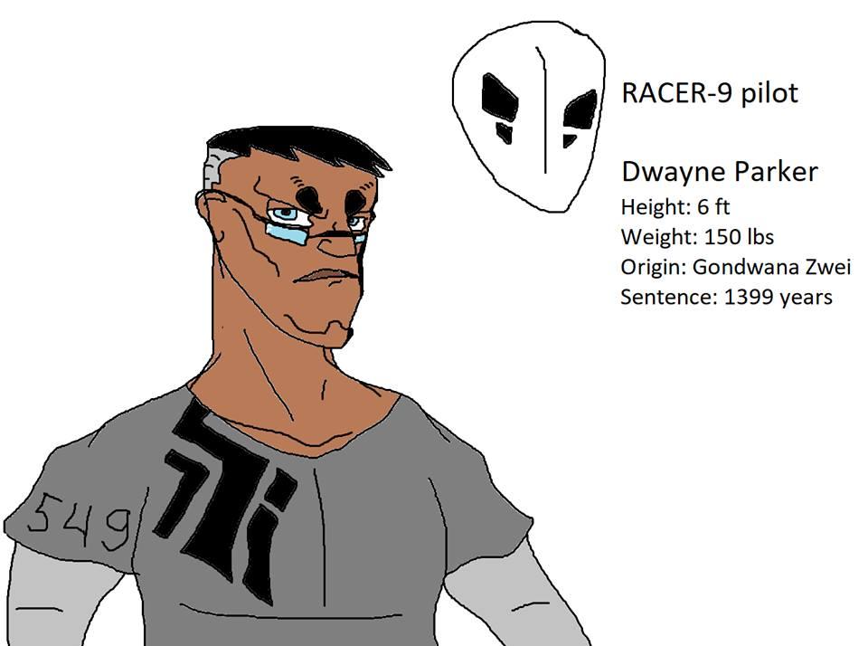 Dwayne Parker by Amaguren