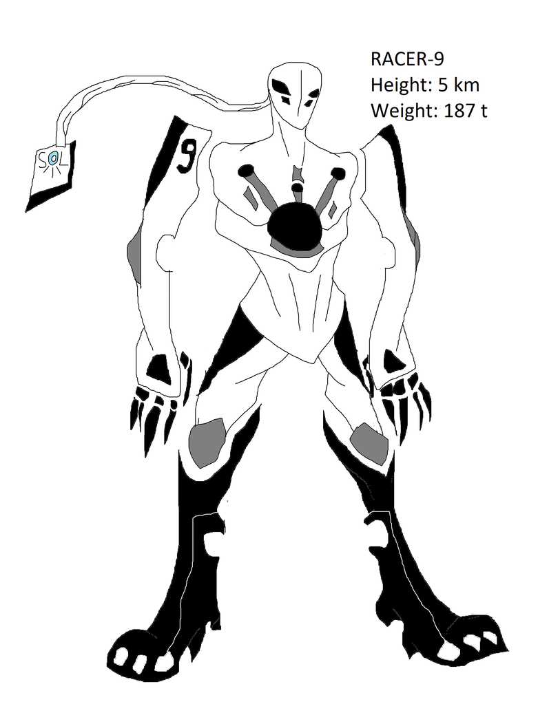 Racer-9 Mecha by Amaguren