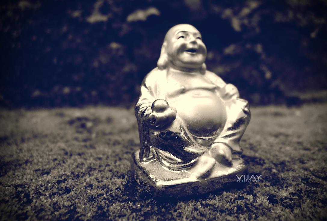 laughing buddha by vijju530iLaughing Buddha Wallpaper