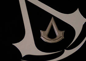 Assassins Creed: Creed Logo Pendant by robo3687