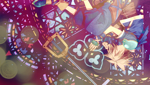 Kingdom Hearts PSP wallpaper by clockwordraven