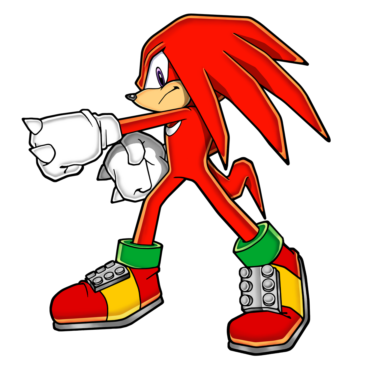 Gambar Kartun Sonic Knuckles: Knuckles The Echidna 2013 By Hypo-Thermic On DeviantArt