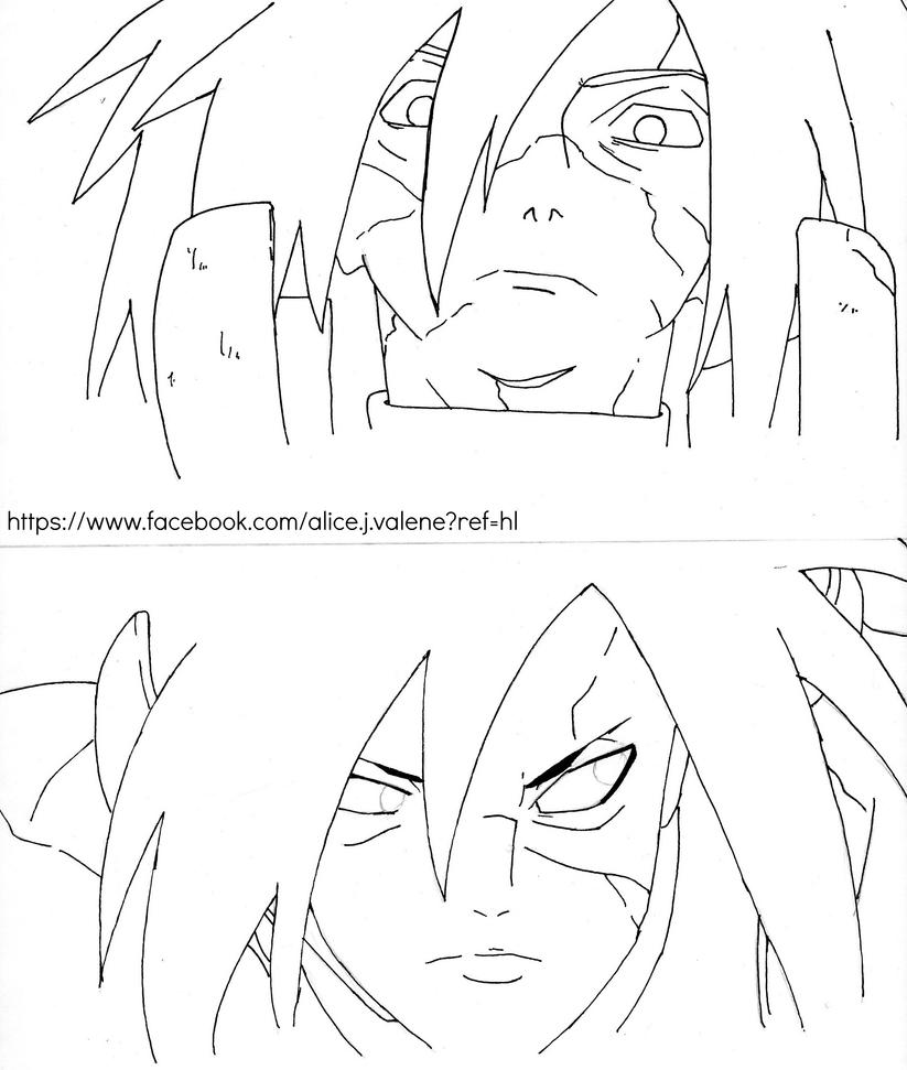 Uchiha Madara by AliceValentine1