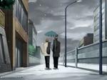 Tezuka and Fuji's moment under the umbrella by RioKamishiro