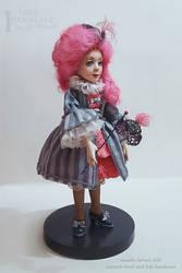 Colombina. Art doll