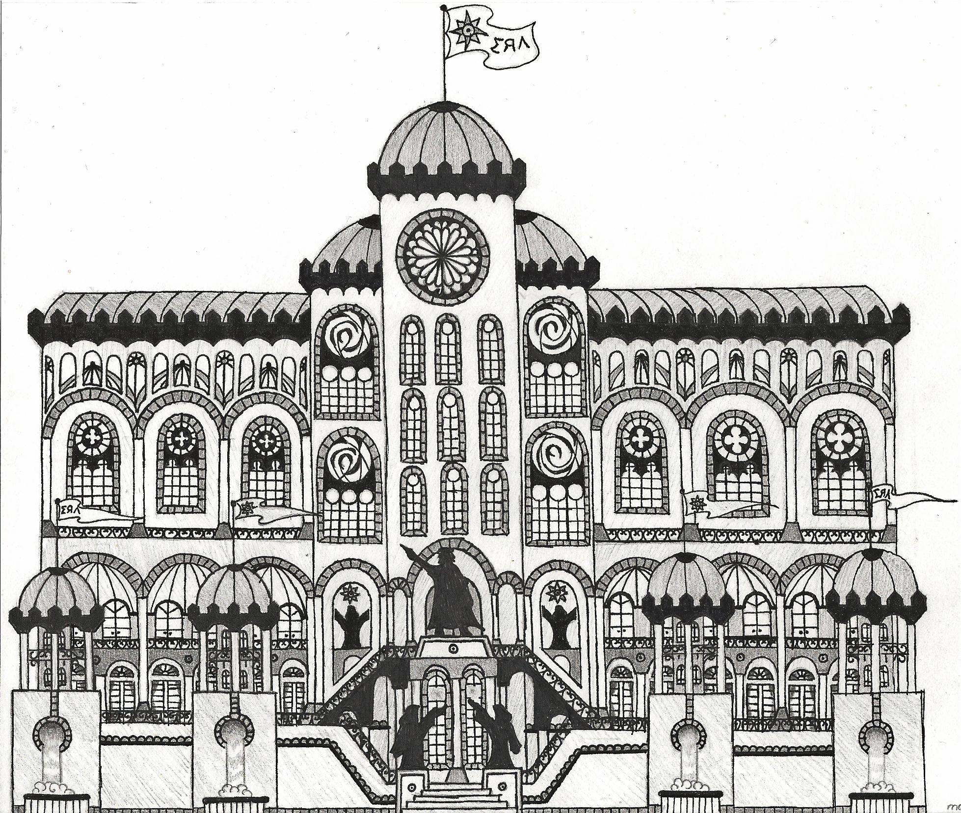 Magatia royal palace by InryDanmaku on DeviantArt