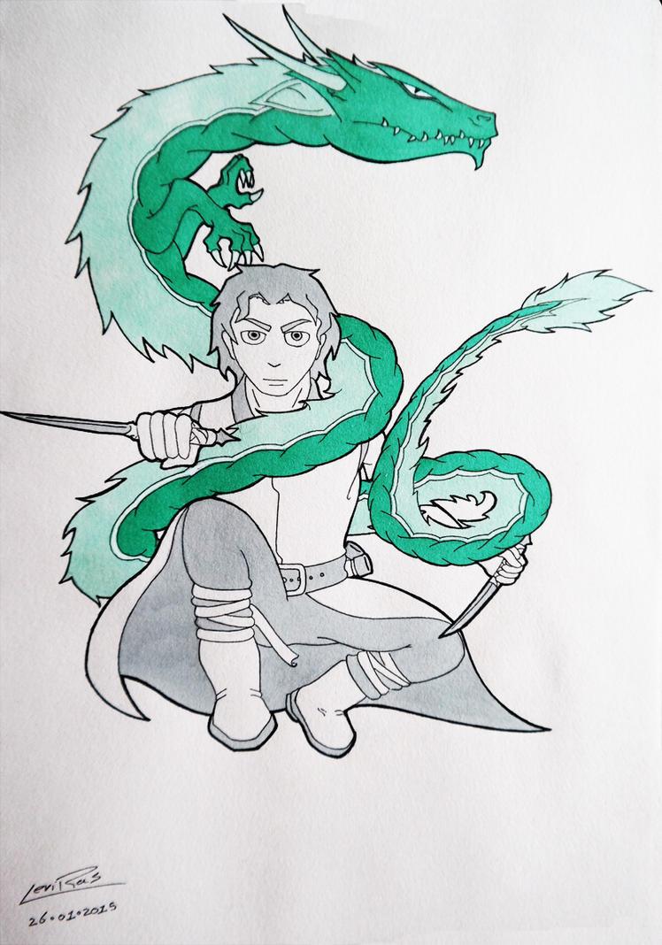 Spirit Dragon by InryDanmaku