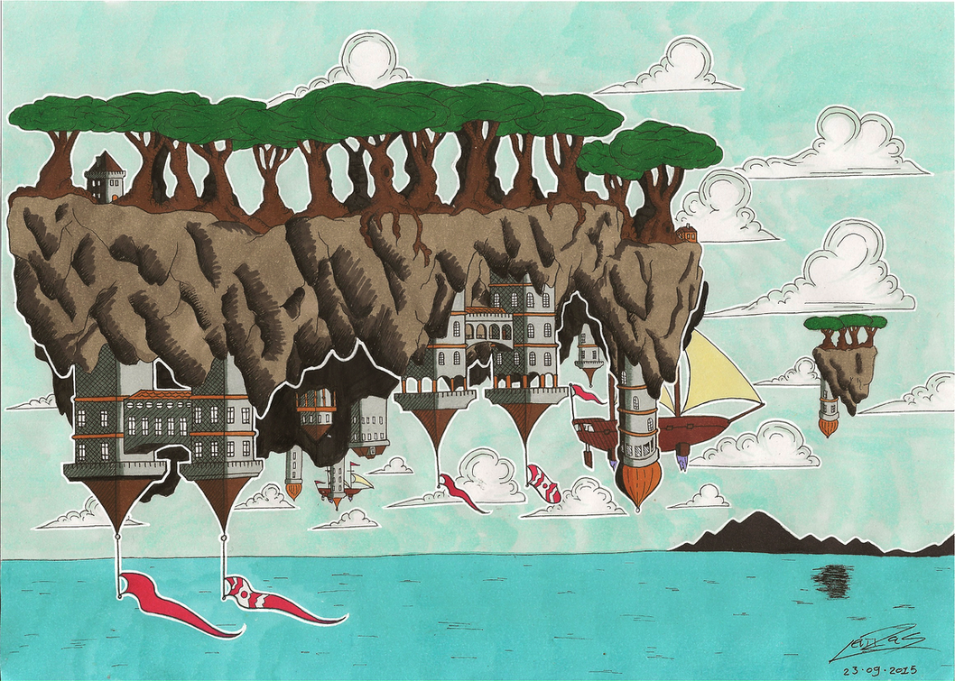 Solitary Isles by InryDanmaku