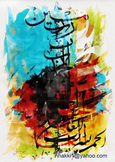 Praising-small by calligrafer