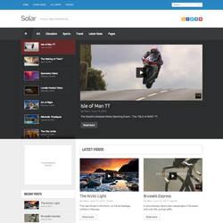 Solar Video WordPress Theme by cmsthemes