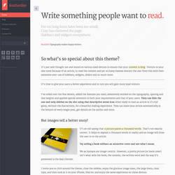Featherlite WordPress Theme by cmsthemes