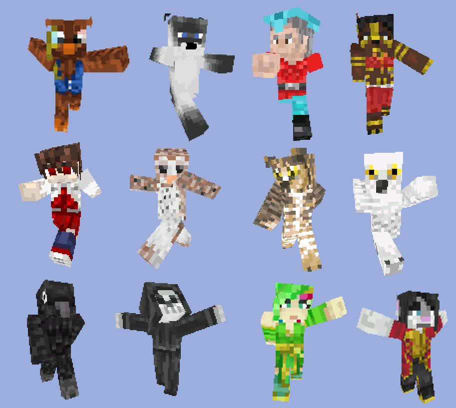 Minecraft Skins By Little Puppie On DeviantArt