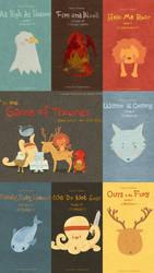 Game of thrones Sigils Cute Cartoon