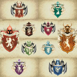 Game of thrones Coat Of Arms German Style