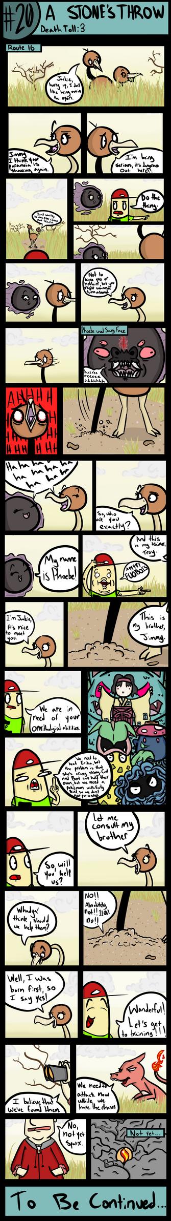 Goomsday: A Gooey Nuzlocke #20: A Stone's Throw by LordGoom