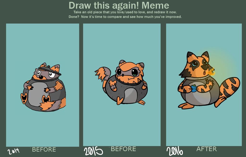 Draw It Again Meme by LordGoom