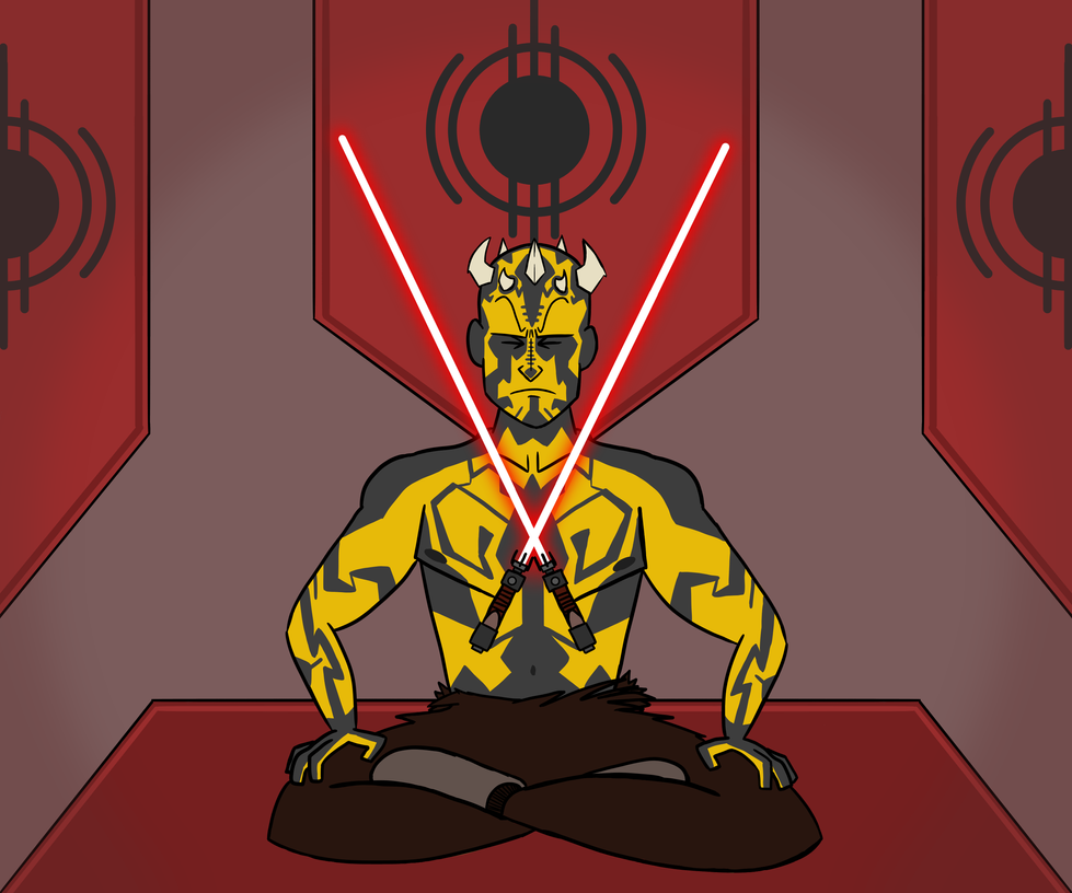 Dathomirian Zabrak Sith Lord by LordGoom
