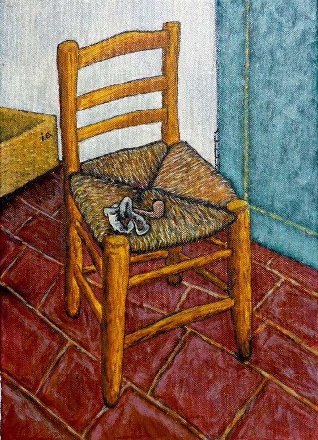 Van Goghu0027s Chair by snowflakeinthesea ... & Van Goghu0027s Chair by snowflakeinthesea on DeviantArt