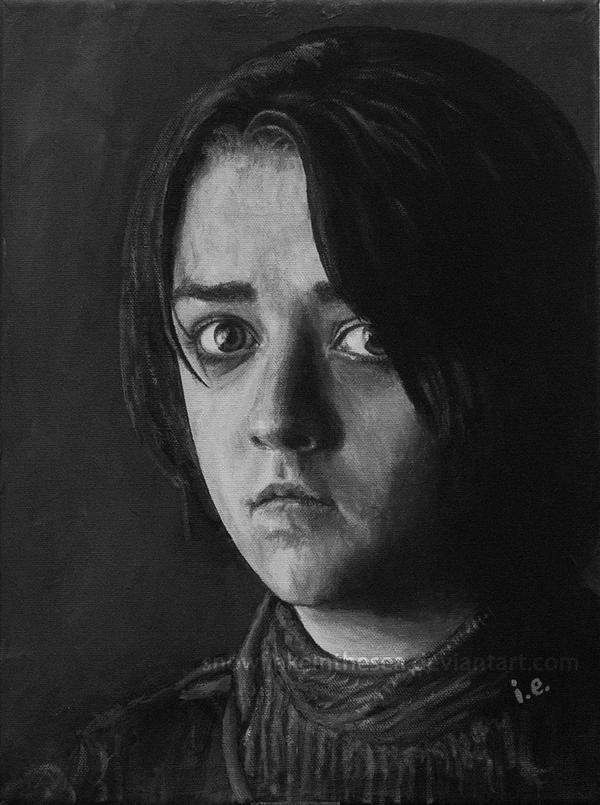 Arya Stark by snowflakeinthesea