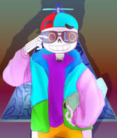 The Freshest Sans that ever lived by Twitchy-Senpai