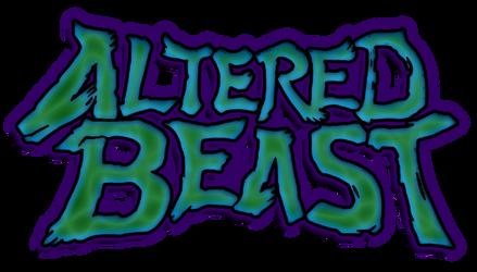 English Altered Beast Logo by fonzi9864