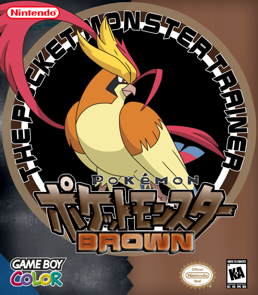 Pokemon Brown Cover by fonzi9864