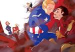 Marvel : Movie Steve/Tony