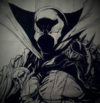 Spawn ( pencil and ink )
