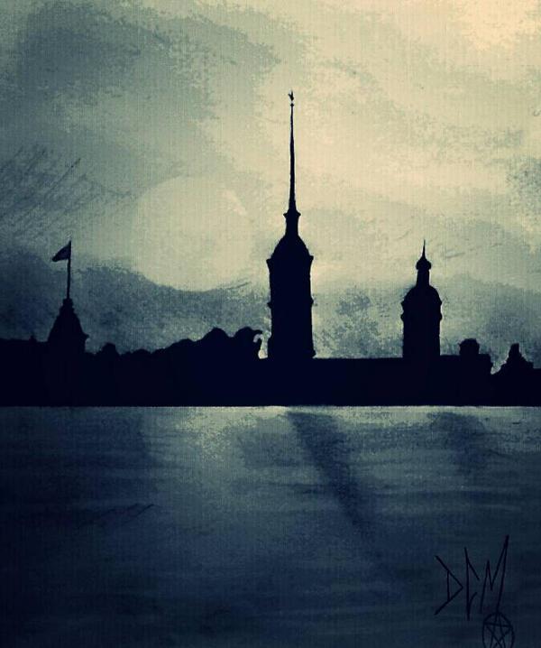 The River Neva (Rasputin's Grave) by Dee-Morgan999