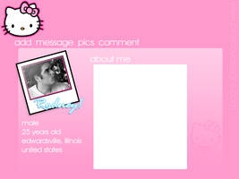 Hello Kitty Flash profile by furiousfelinefuries